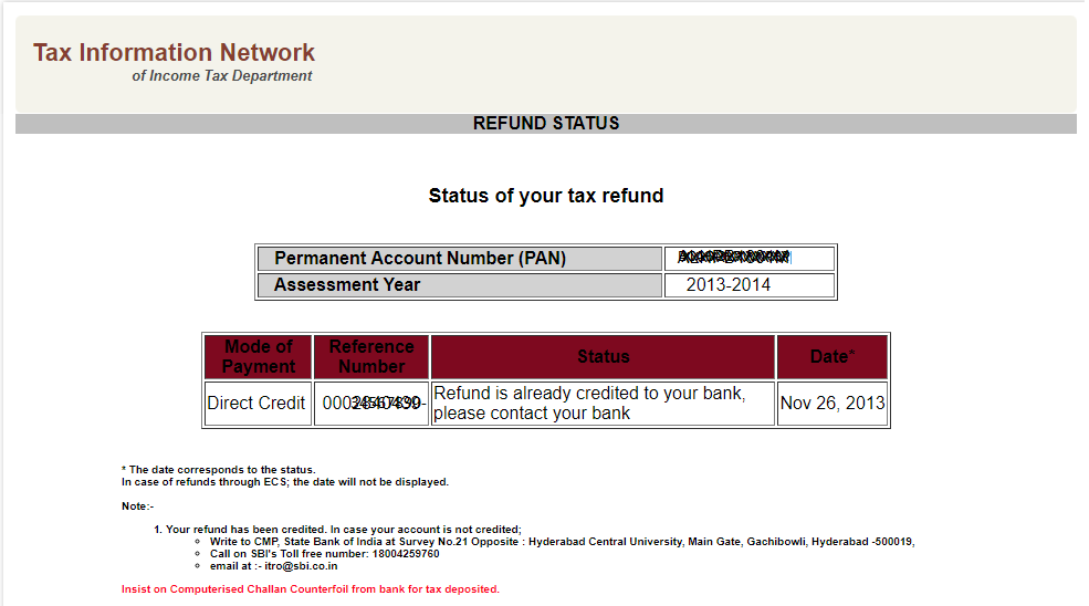 Check Income Tax Refund Status Online | Tips, learnings, and